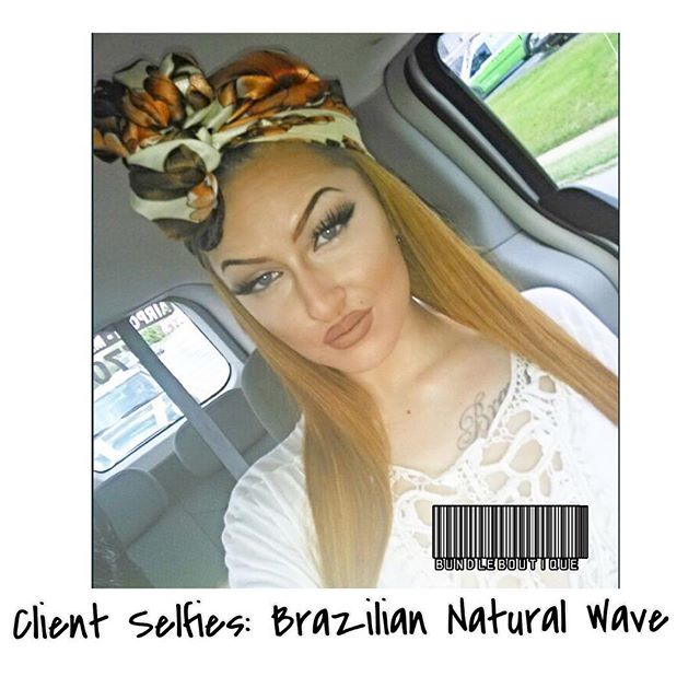 Client Selfies_ Brazilian Natural Wave 😍#bundleboutique #fbf #love #smile #cute #photooftheday #hai