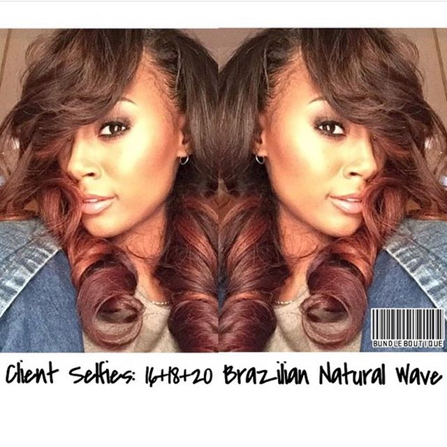 ⚡️Flashback Friday⚡️ Brazilian Natural wave installed by _therealdetroit #virginhair #brazilianhair