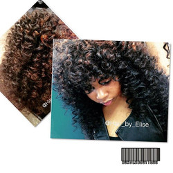 Brazilian Natural Wave sewin _ Hair was wanded and pulled out to create the _big hair_ look 😍_Insta