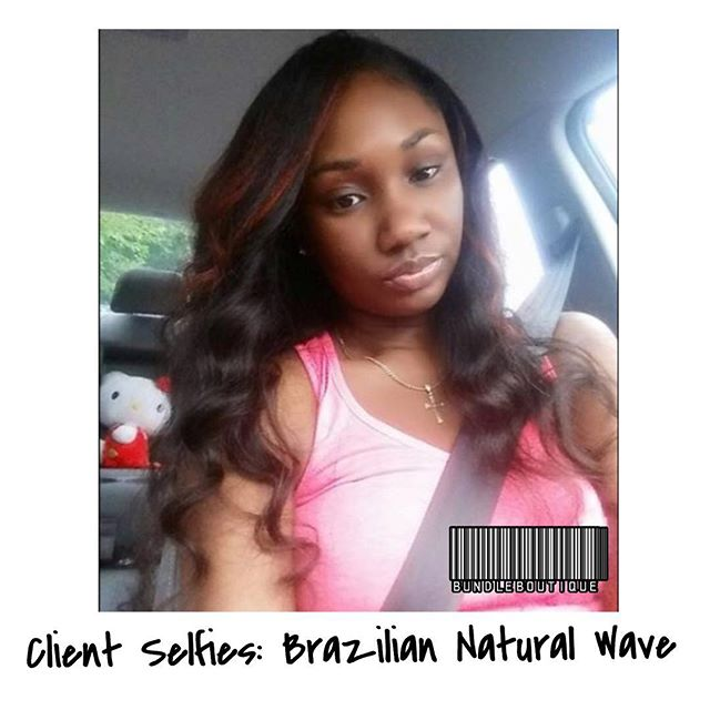 Brazilian Natural Wave 😍 _ #love #selfies #atlhair #photooftheday #bundleboutique