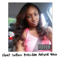 Brazilian Natural Wave 😍 _ #love #selfies #atlhair #photooftheday #bundleboutique