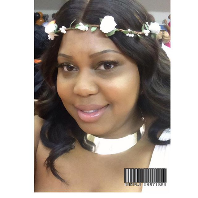 Client Selfies_ Peruvian Straight + Closure #bundleboutique #virginhair #selfies #selfienation #smil