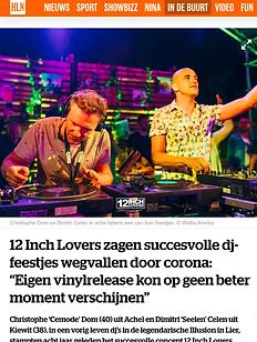 12 Inch Lovers Het Laatste Nieuws