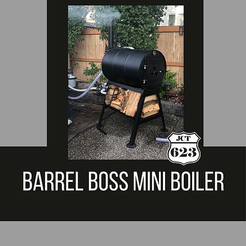 "Barrel Boss - ""MINI BOILER"" Wood Fired Pool Heater"