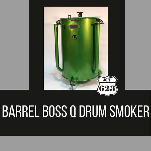 Barrel Boss Q Drum Smoker
