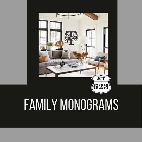 Family Monograms