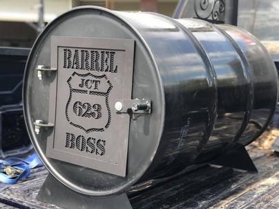 """Custom """"Barrel Boss"""" Pool Heater"""