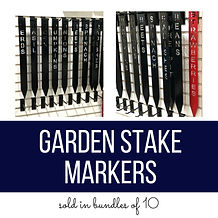 Garden Stake Markers