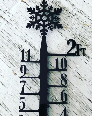Snow meter