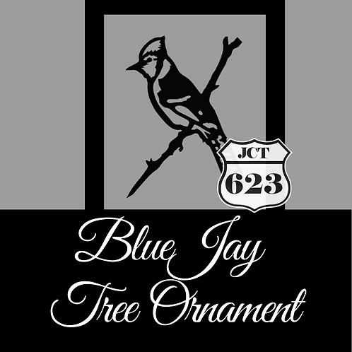 Blue Jay Tree Ornament