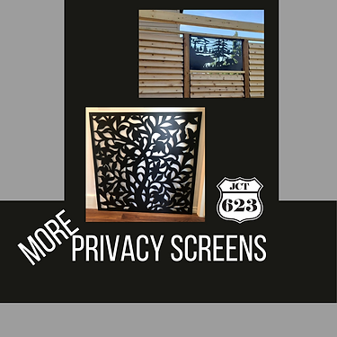 More Privacy Screens