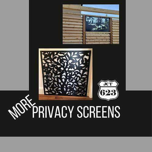 More Privacy Screens