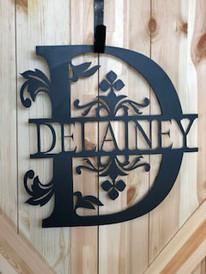 Personalized Name Emblem