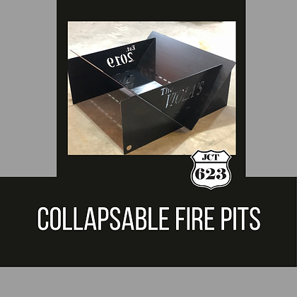 Collapsible Fire Pits