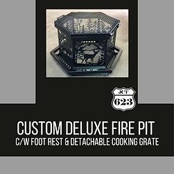Custom Deluxe Fire Pit