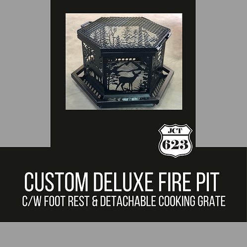 Custom Deluxe Fire Pit