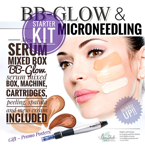 BB-Glow Video Course + Starter Kit for BB-Glow & Microneedling
