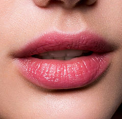 Full lips cosmetic tattooing