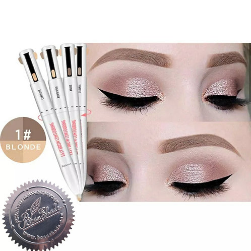 Brow Modeling Pencil, #1 Blond Set, 4 colours
