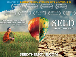 Don't miss the Moraga Premiere of the award-winning documentary, SEED: The Untold Story,February 3-