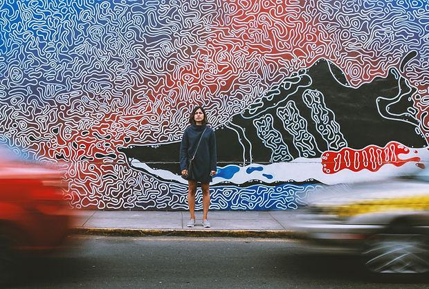 Sneaker Mural