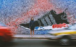Sneaker murale