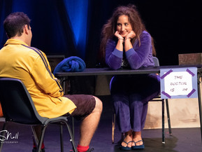 """""""[StageQ] doesn't hold back... in their latest dark comedy"""""""