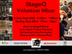 StageQ is Holding a Volunteer Mixer