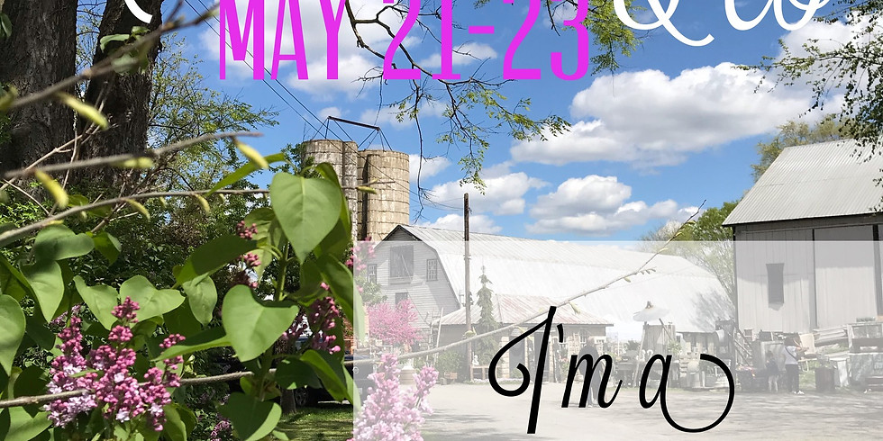 Sun, May 23 Chartreuse & Co Spring Market Days
