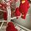 Thumbnail: Crocheted Red Bird Ornament