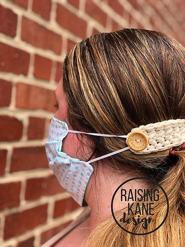 Ear saver mask connector