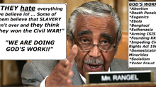 Rangel: Republicans Want Slavery, Democrats Want God