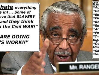 Rangel: Republicans Want Slavery, Democrats Want God