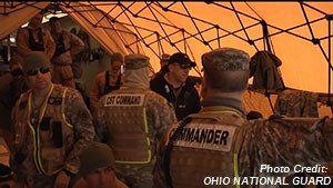 Ohio National Guard Training Envisions Right-Wing Terrorism
