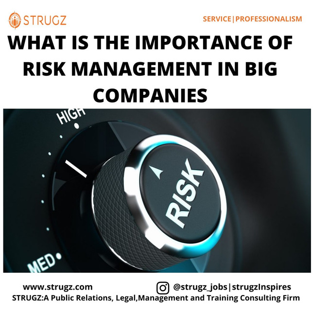 WHAT IS THE IMPORTANCE OF RISK MANAGEMENT IN BIG COMPANIES