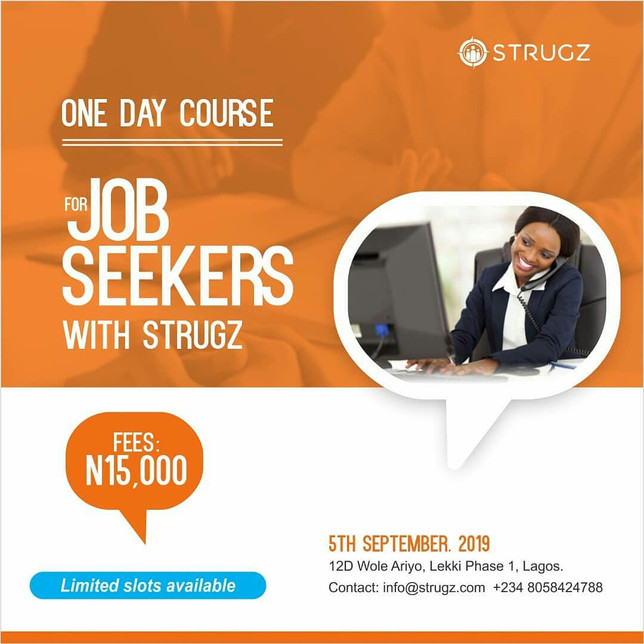 One DAY Course For Job Seekers