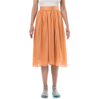 SILK DARE TO FLARE SKIRT