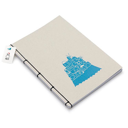 HANDBOUND GREECE NOTEBOOK