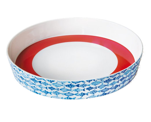 REMEMBER PORCELAIN BOWL FISH