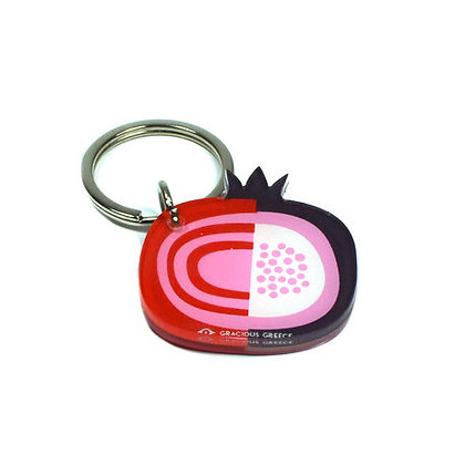 POMEGRANATE KEYRING