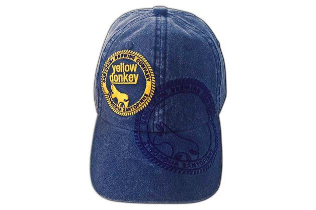 YELLOW DONKEY BRUSHED CANVAS CAP