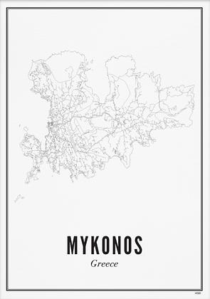 MYKONOS A6 PRINT