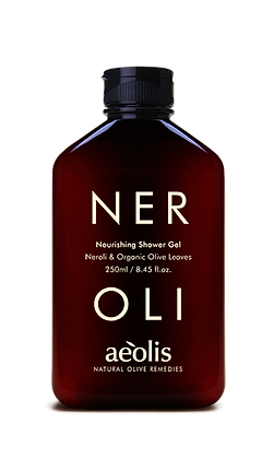 ORGANIC OLIVE LEAVES & NEROLI SHOWER GEL