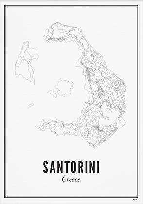 SANTORINI A6 PRINT
