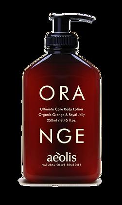 ORGANIC ORANGE & ROYAL JELLY BODY LOTION