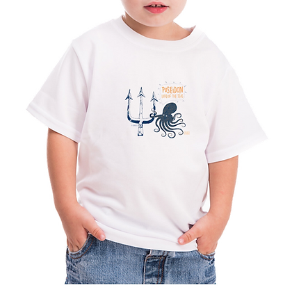 T-GREEKS POSEIDON KIDS T-SHIRT
