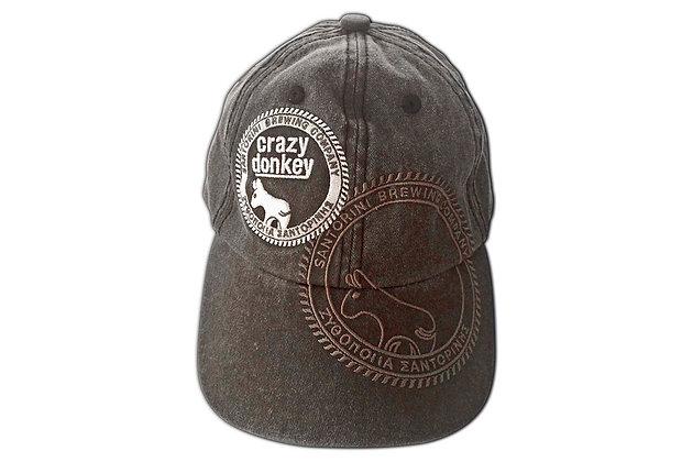 CRAZY DONKEY BRUSHED CANVAS CAP