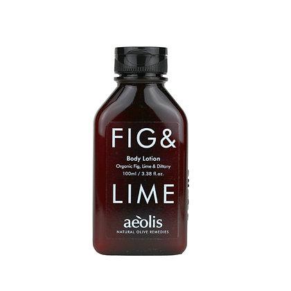 ORGANIC FIG & LIME BODY LOTION 100ml