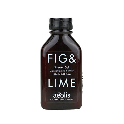 ORGANIC FIG & LIME SHOWER GEL 100ml