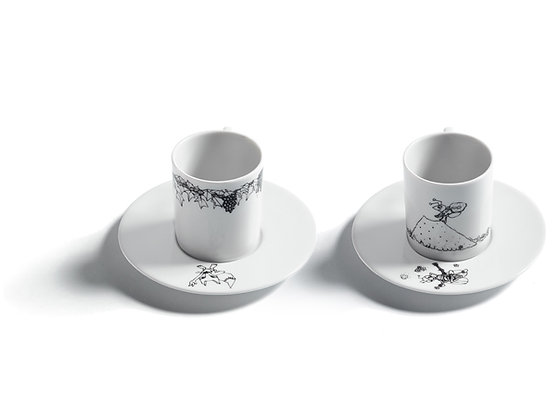 AESOP'S FABLES ESPRESSO CUPS I